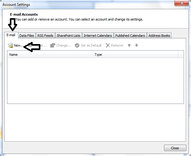 Set gmaill account in outlook 2007 using IMAP-1